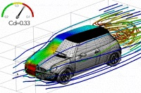 Learning Three-dimensional Flow for Interactive Aerodynamic Design